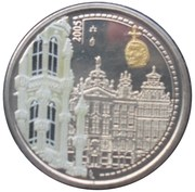 Token - World Heritage (colorized) – obverse