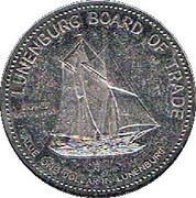 1 Dollar - Lunenburg, Nova Scotia – reverse