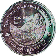 MacPuffin Dollar - Cape Breton Island, Nova Scotia – obverse