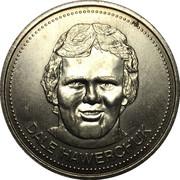Winnipeg Jets Dollar - Winnipeg, Manitoba – obverse