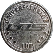 10 Pence - Universal Space – reverse