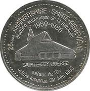 2 Dollars - Sainte-Foy, Quebec – reverse