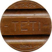 Telephone Token - TETI Gettone Telefonico (Roma) – reverse