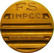 FS INPCC ROMA 1947 – reverse
