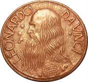 Token - Leonardo Da Vinci – obverse