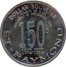 2 Dollar Souvenir - Saint-Raymond de Portneuf – reverse