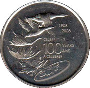 Royal Canadian Mint Token (Celebrating 100 years) – obverse