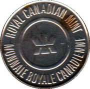 Royal Canadian Mint Token (Celebrating 100 years) – reverse
