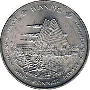 Royal Canadian Mint Medal - Ottawa / Winnipeg – obverse