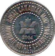 Royal Canadian Mint Test Token (Polar bear) – obverse