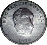 Shell Oil Token - Prime Ministers of Canada (1894 - Mackenzie Bowell) – obverse