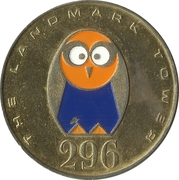 Token - The Landmark Tower – obverse