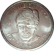 Token - NHLPA Limited Edition Greats Coin Collection (Wayne Gretzky) – obverse