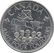Token - Canada (Friends into the future) – obverse