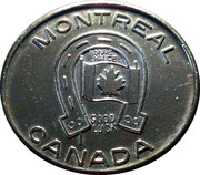 Good Luck Token - Montreal – obverse