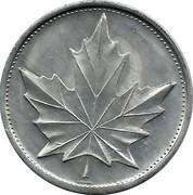 Token - Canadian Explorers (Simon Fraser) – reverse