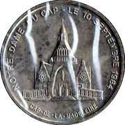 Token - Ioannes Paulus II (Notre-Dame-du-Cap) – reverse