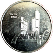 Token - Torex Coin World Sidney Ohio – obverse