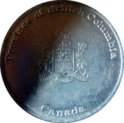Medallion - Province of British Columbia (Elizabeth II Silver Jubilee) – obverse