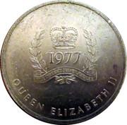 Medallion - Province of British Columbia (Elizabeth II Silver Jubilee) – reverse