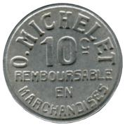 10 Centimes - Pau 64 – reverse