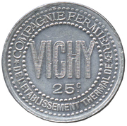 25 Centimes (Vichy) – obverse