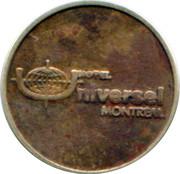 Token - Hotel Universel Montreal – obverse