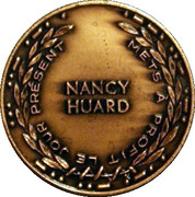 Medal - Nancy Huard (Canada's National Parks Centennial) – reverse