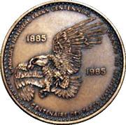 Medal - Nancy Huard (Canada's National Parks Centennial) – obverse