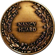 Medal - Nancy Huard (A Salute to the Lady (Liberty)) – reverse