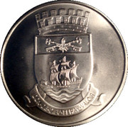 Medal - Quebec 400th Anniversary – reverse