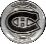 Token - NHL (Canadiens - Georges Laraque) – reverse