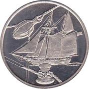 """5 Florijn - Sail Amsterdam 2000 (""""Recouvrance"""") – obverse"""