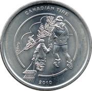 1 Dollar - Canadian Tire (Tobogganing) – obverse