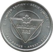 1 Dollar - Canadian Tire (Tobogganing) – reverse