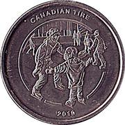 1 Dollar - Canadian Tire (Ice Skating) – obverse