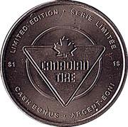 1 Dollar - Canadian Tire (Ice Skating) – reverse