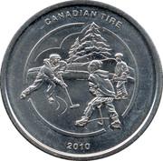 1 Dollar - Canadian Tire (Hockey) – obverse