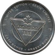 1 Dollar - Canadian Tire (Hockey) – reverse