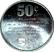 50 Cents - McDonald's – reverse