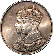 Medallion - George VI (Royal Visit) – obverse