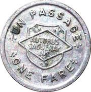 1 Fare - Autobus Saguenay Inc. – reverse