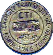 Token - Chambly Transport Inc. – obverse