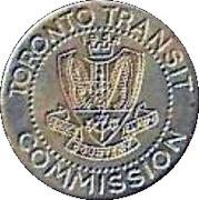 Metro Token - Toronto Transit Commission (The Corporation of the Borough of Etobicoke) – obverse