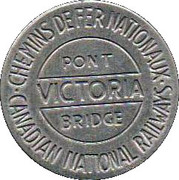 Token - Victoria Bridge – obverse
