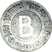 Token - Les autobus Boulais LTEE (St. Jean de Richelieu) – obverse