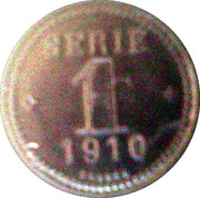 Token - Borax Consolidated (Serie 1) – reverse