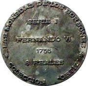 Token - Coleccion Ortiz (8 Reales Fernando VII) – reverse