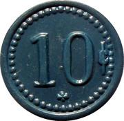 10 Centavos - The Colorado Nitrate Company – reverse