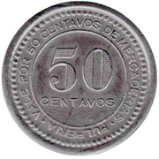 50 Centavos - Collahuasi la grande – reverse
